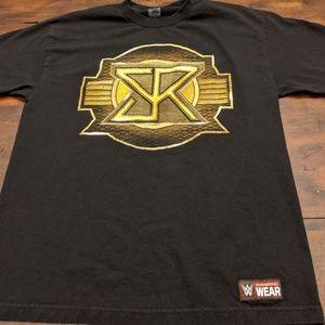 WWE Seth Rollins Men's Large T-shirt Black/Gold
